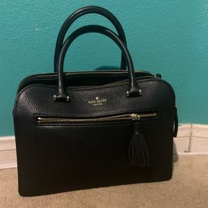 Kate Spade Double Zipper bag with Long Strap